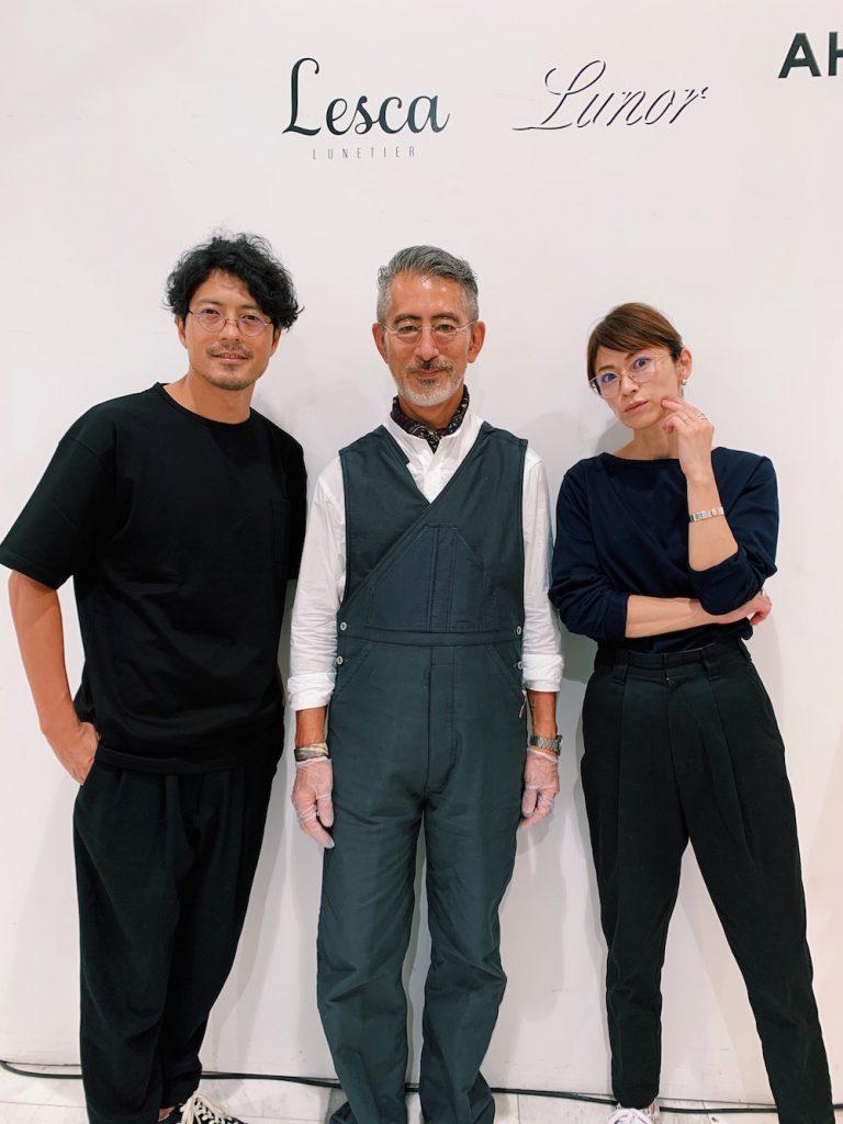モデルの畑野ひろ子さんと旦那様の鈴木啓太さん