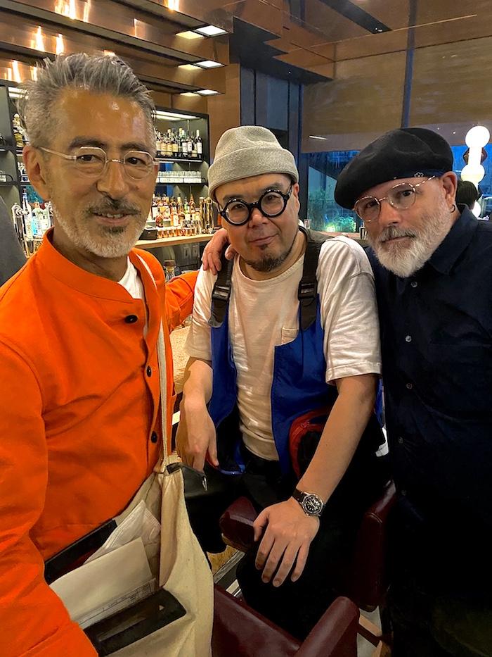 オープン初日の「ACE HOTEL」のバーでも、田中さんとTommyとたまたま一緒になりました!